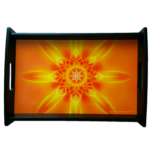 Serving tray Mandala of Illumination