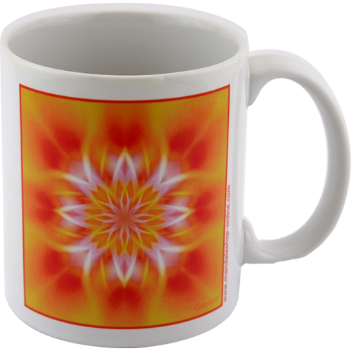 Mug Mandala that allows you to turn the inner light
