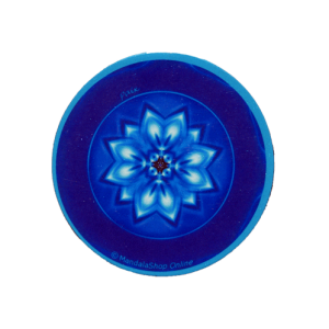 Round magnet mandala of Peace