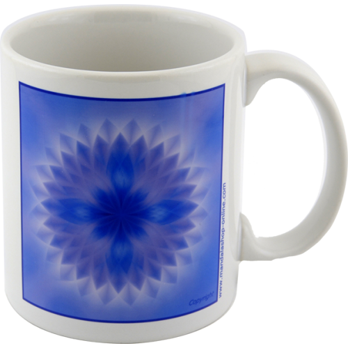 Mug Mandala of the higher force within to overcome one's own imperfections