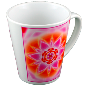Tasse conique Mandala de la Quintessence