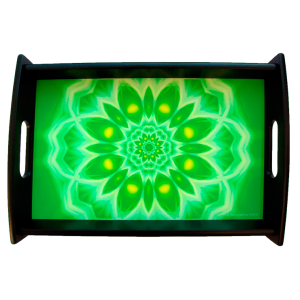 Serving tray Mandala of Enthousiasm