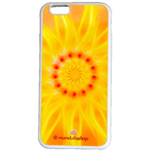 Coque iPhone 6 mandala de l'Optimisme