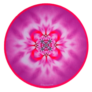 Round mouse pad Mandala of Art
