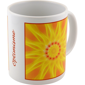 Mug mandala de l'Optimisme