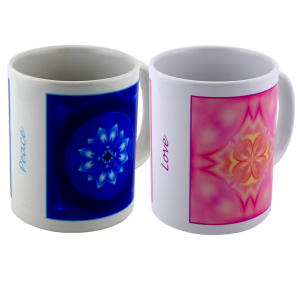 Duo mugs Peace and Love