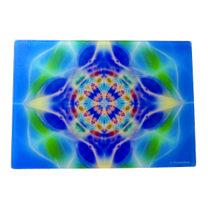 Energising Plate Mandala of Water