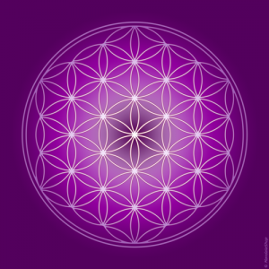 Flower of Life canvas (7 colours at choice)