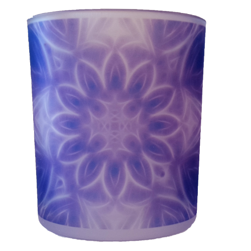 Candle holder mandala of Calm