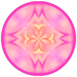 harmonising disk Mandala of Love