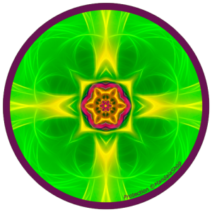harmonising disk Mandala of Protection