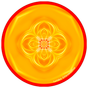 harmonising disk Mandala of Light