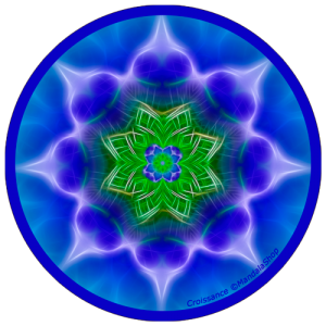 harmonising disk Mandala of Growth