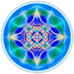harmonising disk Mandala of Water