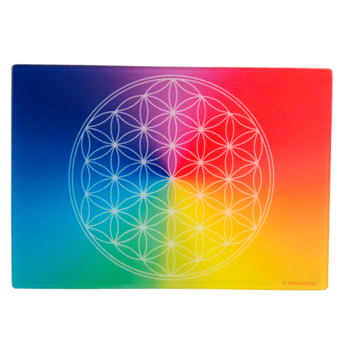 7-ray Flower of Life Energising Plate