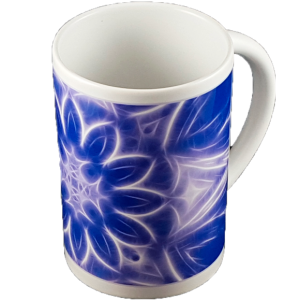Thin mug Mandala of Calm