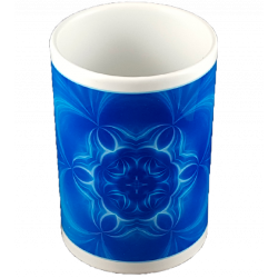 Thin mug Mandala of Serenity