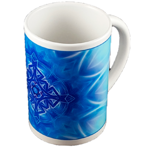 Thin mug Mandala of Existence