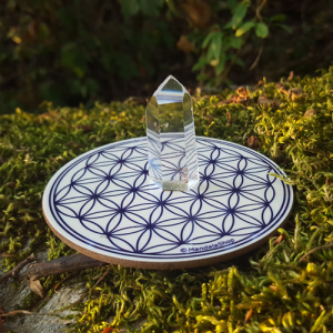 Harmonising disk White Flower of Life
