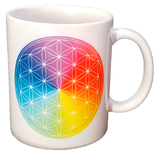 Mug 7-ray Flower of Life