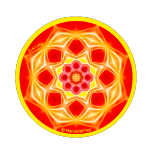Round magnet mandala of Success