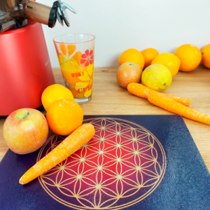 Antic Flower of Life Energising Plate