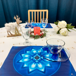 Table set Mandala of Peace