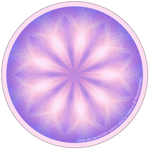 Harmonising disk Mandala of Awakening of subtle perceptions