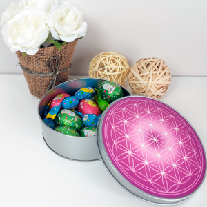 Flower of Life round box (7 colours at choice)