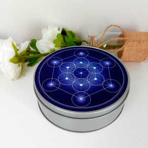 Metatron's Cube round box (7 colours at choice)