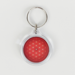 Flower of Life Keychain (11 colours at choice)