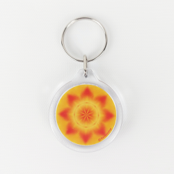 Mandala of Feng Shui for your house Keychain