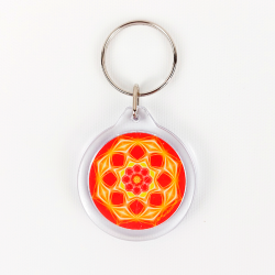 Mandala of Success Keychain
