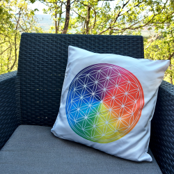 Flower of Life Cushion cover