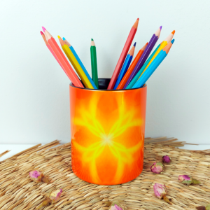 Pencil holder for the realization of projects