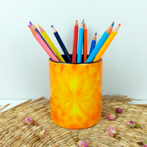 Pencil holder Helps to find and manifest one's talent