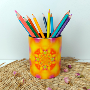Helps to keep one on course Pencil holder