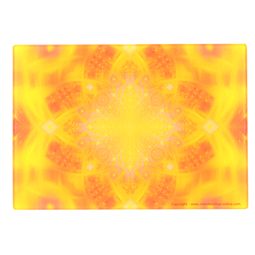 Energising Plate Mandala of the transcendence that allows to find divine glory