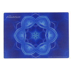 Plaque dynamisante Mandala de l'Alliance