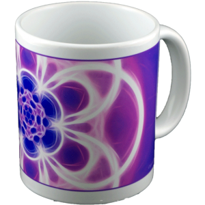 Panoramic mug Mandala of Transparency