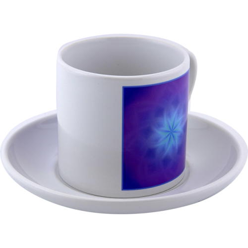 Tea cup Mandala of the awakening of subtle perceptions in relationships